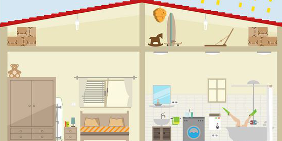 Im interaktiven Energiewende-Haus verstecken sich zahlreiche nützliche Tipps, die in vielen Fällen nicht nur Energie, sondern auch Geld sparen.