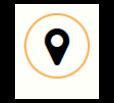 Pins: Pfeil in einem gelben Kreis